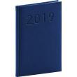 Týdenní diář Vivella Classic 2019, modrý, 15 x 21 cm