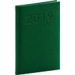 Týdenní diář Vivella Classic 2019, zelený, 15 x 21 cm