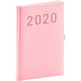 Weekly diary Vivella Fun pink 2020, 15 × 21 cm