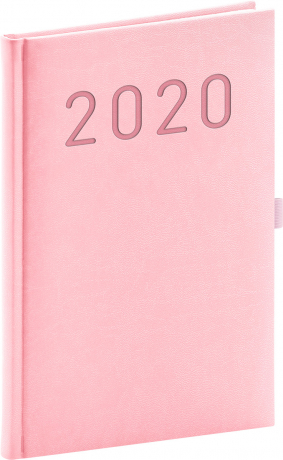 Weekly diary Vivella Fun pink 2020, 15 × 21 cm