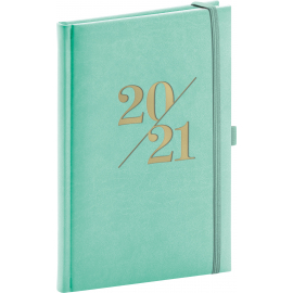 Weekly Diary Vivella Fun turquoise 2021, 15 × 21 cm