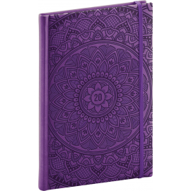Weekly diary Vivella Special mandala 2020, 15 × 21 cm