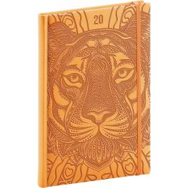 Weekly diary Vivella Special tiger 2020, 15 × 21 cm