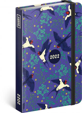 Týdenní diář Vlaštovky 2022, 11 × 16 cm