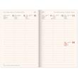 Týdenní magnetický diář Alfons Mucha 2021, 11 × 16 cm