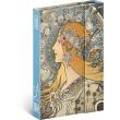 Týdenní magnetický diář Alfons Mucha 2022, 11 × 16 cm