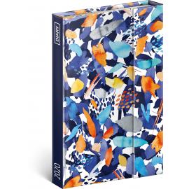 Týdenní magnetický diář Barevné tahy 2020, 11 × 16 cm