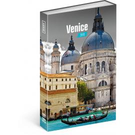 Týdenní magnetický diář Benátky 2018, 10,5 x 15,8 cm