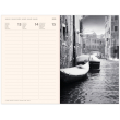 Magnetic weekly diary Venice 2020, 11 × 16 cm