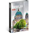Týdenní magnetický diář Berlín 2019, 10,5 x 15,8 cm