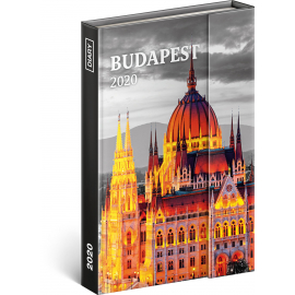 Magnetic weekly diary Budapest 2020, 11 × 16 cm