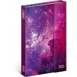 Magnetic weekly diary Galaxy 2021, 11 × 16 cm