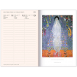 Týdenní magnetický diář Gustav Klimt 2019, 10,5 x 15,8 cm