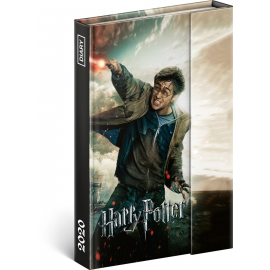 Týdenní magnetický diář Harry Potter 2020, 11 × 16 cm