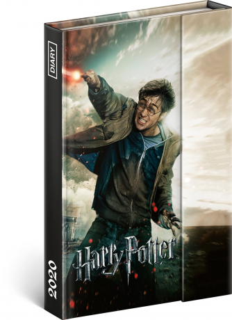 Magnetic weekly diary Harry Potter 2020, 11 × 16 cm