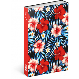 Weekly magnetic diary Hawai 2018, 10,5 x 15,8 cm