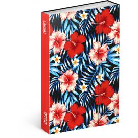 Týdenní magnetický diář Hawai 2018, 10,5 x 15,8 cm