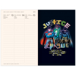 Magnetic weekly diary Justice League 2020, 11 × 16 cm