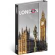 Týdenní magnetický diář Londýn 2020, 11 × 16 cm