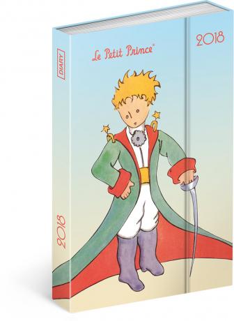 Týdenní magnetický diář Malý princ (Le Petit Prince) – Traveler 2018, 10,5 x 15,8 cm