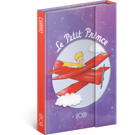 Magnetic weekly diary Le Petit Prince – Airplane 2021, 11 × 16 cm
