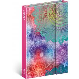 Magnetic weekly diary Mandala 2020, 11 × 16 cm