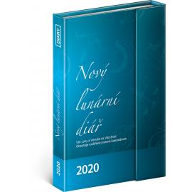 Týdenní magnetický diář Nový lunární diář 2020, 11 × 16 cm