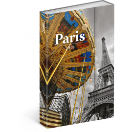 Weekly magnetic diary Paris 2018, 10,5 x 15,8 cm
