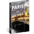 Týdenní magnetický diář Paříž 2020, 11 × 16 cm