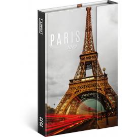 Magnetic weekly diary Paris 2022, 11 × 16 cm