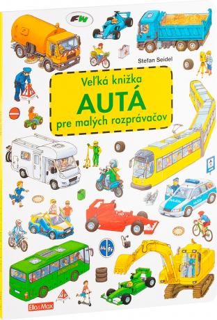 Veľká knižka AUTÁ pre malých rozprávačov