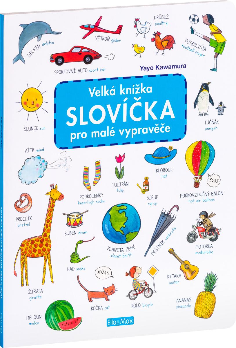 7ef1ab10c Velká knížka SLOVÍČKA pro malé vypravěče | PRESCO.CZ