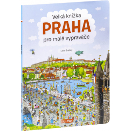 Velká knížka Praha pro malé vypravěče