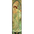 Záložka Alfons Mucha – Evening contemplation