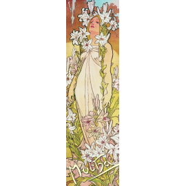 Bookmark Alfons Mucha –  Lilly