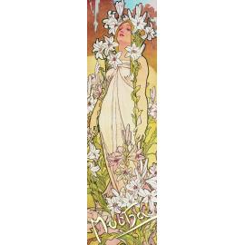 Záložka Alfons Mucha – Lilie