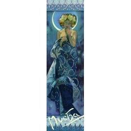 Záložka Alfons Mucha – Luna