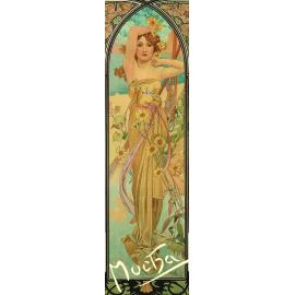Záložka Alfons Mucha – Nádhera dne