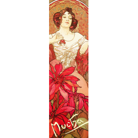 Bookmark Alfons Mucha – Ruby