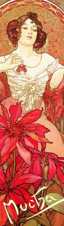 Záložka Alfons Mucha – Rubín