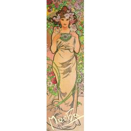 Záložka Alfons Mucha – Růže