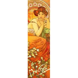 Bookmark Alfons Mucha – Topaz