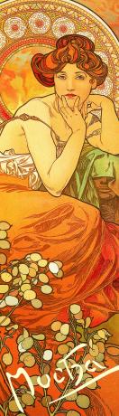 Záložka Alfons Mucha – Topas