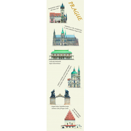 Bookmark Libero Patrignani - Prague all