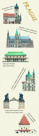 Záložka Libero Patrignani – Prague soubor