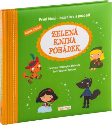 Zelená kniha pohádek, první čtení - bezva hra a poučení